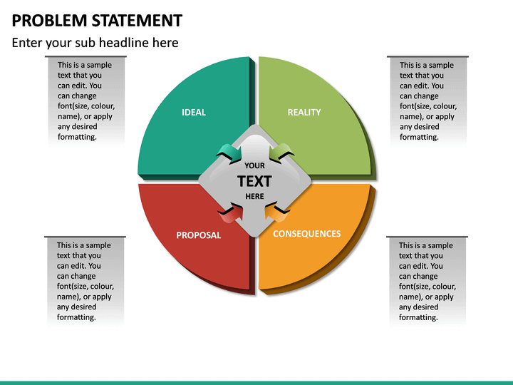 Problem Statement PowerPoint Template | SketchBubble