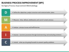 Business process improvement PPT slide 35