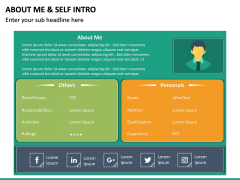 About Me / Self Intro PPT Slide 18