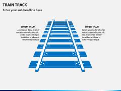 Train Track PPT Slide 1