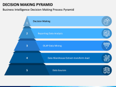 Decision Making Pyramid PPT Slide 9