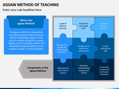 Jigsaw Method of Teaching PPT Slide 1