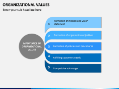 Organizational Values PPT Slide 12
