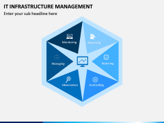 IT Infrastructure Management PPT Slide 1