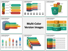 Cylinder Infographics PPT Slide MC Combined