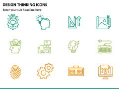 Design Thinking Icons PPT Slide 8