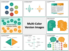 Convergent thinking PPT slide MC Combined