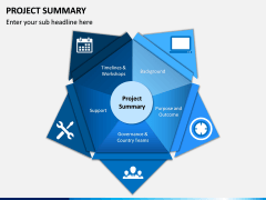 Project Summary PPT Slide 1
