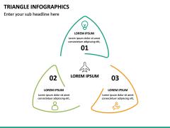 Triangle Infographics PPT Slide 28