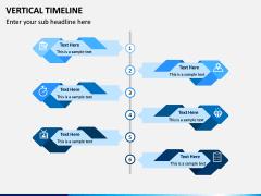 Vertical Timeline PPT Slide 11