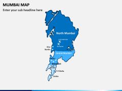 Mumbai Map PPT Slide 1