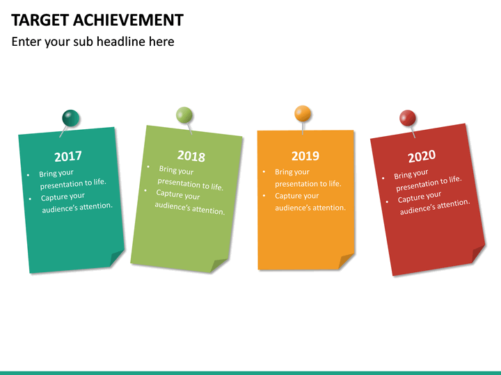 target achievement powerpoint template