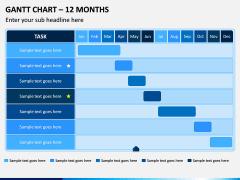 Gantt Chart PPT Slide 6