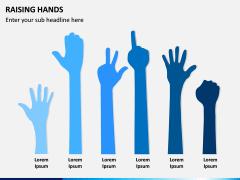 Raising Hands PPT Slide 7