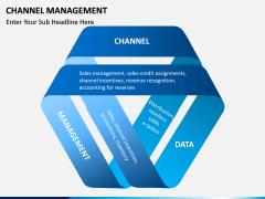 Channel Management PPT slide 1