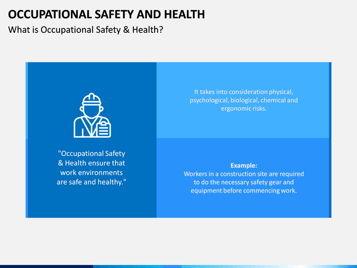 Occupational Safety And Health Powerpoint Template Sketchbubble