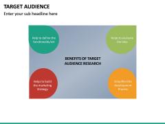 Target Audience PPT Slide 27