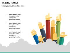 Raising Hands PPT Slide 14