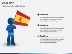 Spain map PPT slide 19