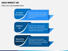 High Impact HR PPT Slide 1