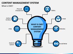 Content Management System (CMS) PPT Slide 1