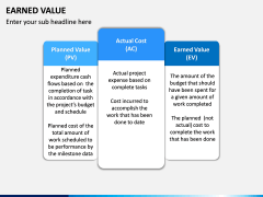 Earned Value PPT Slide 2
