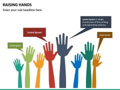 Raising Hands PPT Slide 13