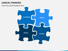 Logical thinking PPT slide 6