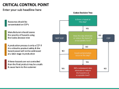Critical Control Point PPT Slide 26