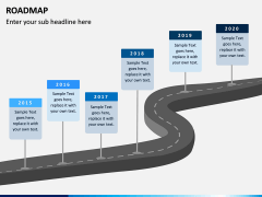 Roadmap PPT Slide 21