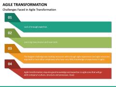 Agile Transformation PPT Slide 37