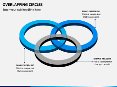 Overlapping Circles PPT Slide 18