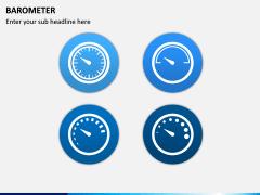 Barometer Icons PPT Slide 11