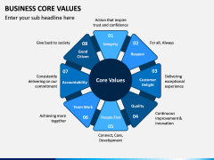 Business Core Values PPT Slide 11