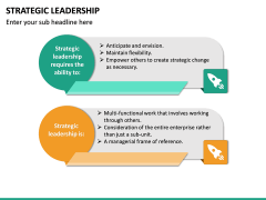 Strategic Leadership PPT Slide 17