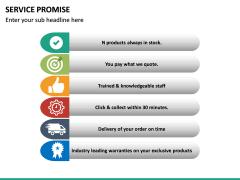Service Promise PPT slide 14