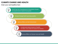Climate Change and Health PPT Slide 19