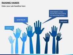 Raising Hands PPT Slide 1