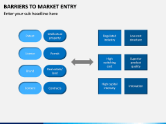 Barriers to Market Entry PPT Slide 8