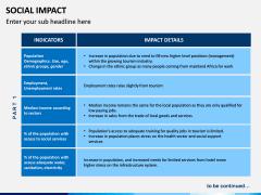Social Impact PPT Slide 17