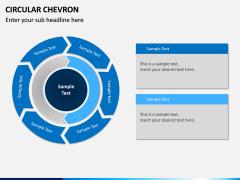 Circular Chevron PPT Slide 13