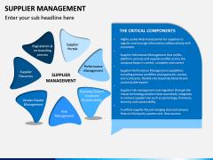 Supplier Management PPT Slide 2