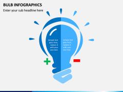 Bulb Infographics PPT Slide 2