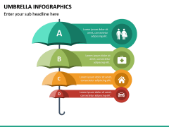 Umbrella Infographics PPT Slide 17