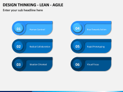 Design Thinking - Lean - Agile PPT Slide 9