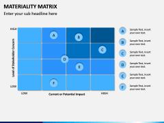 Materiality Matrix PPT Slide 6