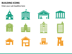 Building Icons PPT Slide 14