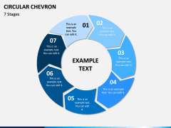 Circular Chevron PPT Slide 9