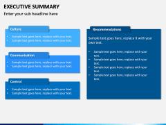 Executive Summary PPT Slide 16