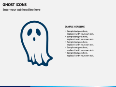 Ghost Icons PPT Slide 2